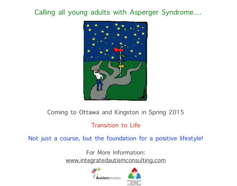 Transition to Life is Coming to Ottawa and Kingston