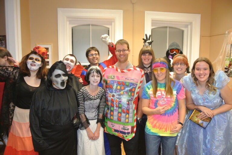 We had a Happy Halloween at The Social Club!