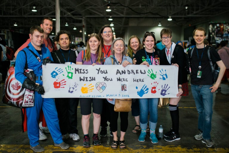 IAC SOCIAL CLUB HONOUR ANDREW AT ANIME NORTH