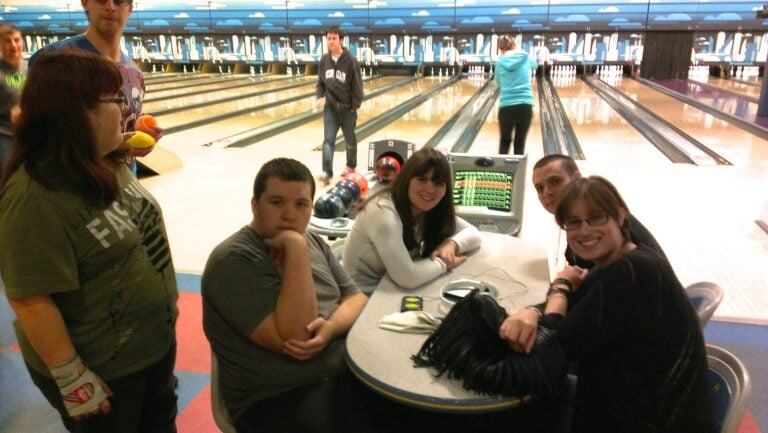 Bowling with the Spectrum Connection