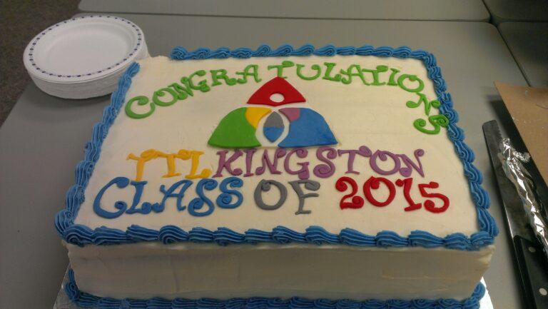 Congratulations to Kingston Transition to Life Graduates!