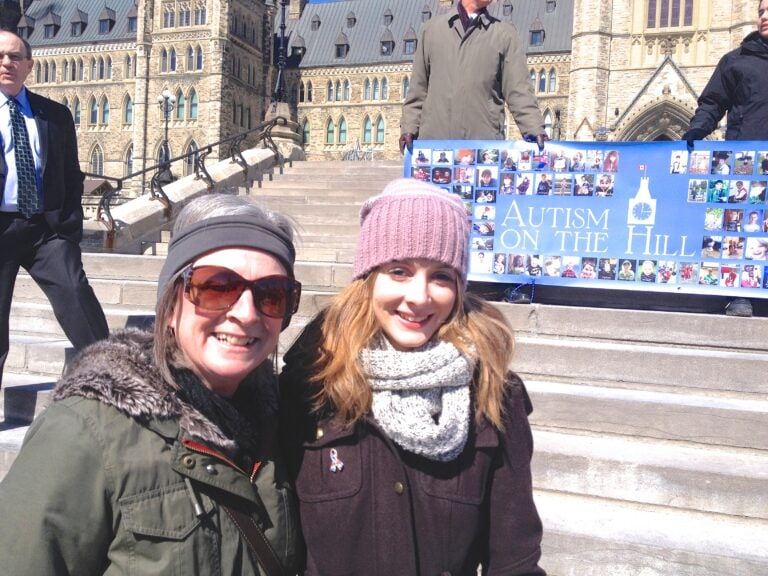IAC in Ottawa for CASDA and Autism on the Hill