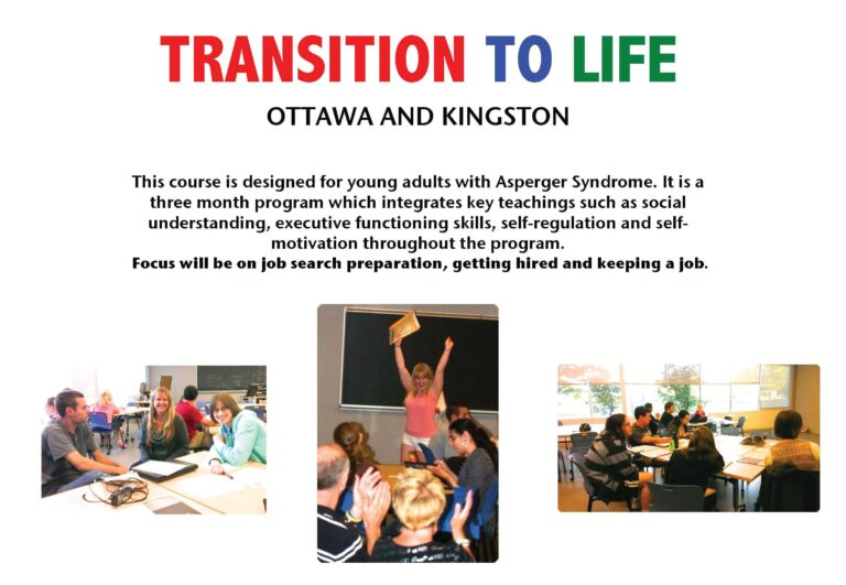 1 Week left to Apply for Transition to Life in Ottawa and Kingston